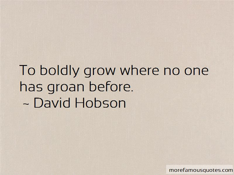 David Hobson Quotes Pictures 4