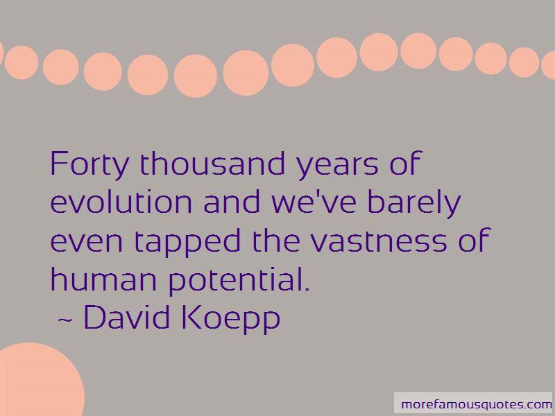 David Koepp Quotes Pictures 2