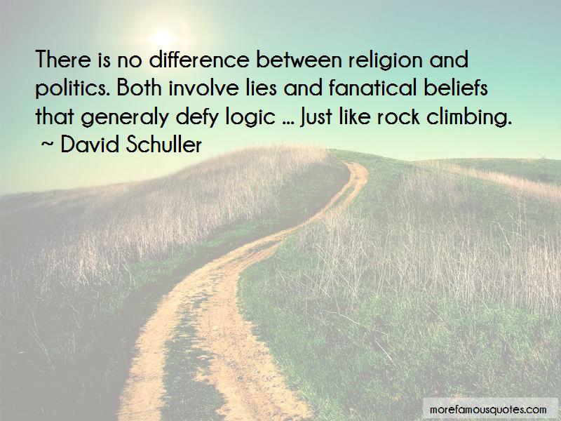 David Schuller Quotes
