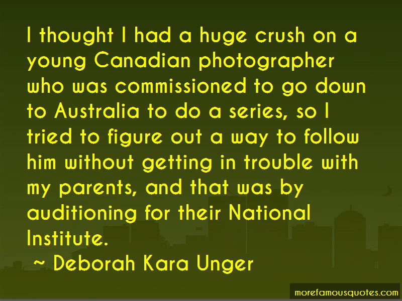 Deborah Kara Unger Quotes Pictures 2