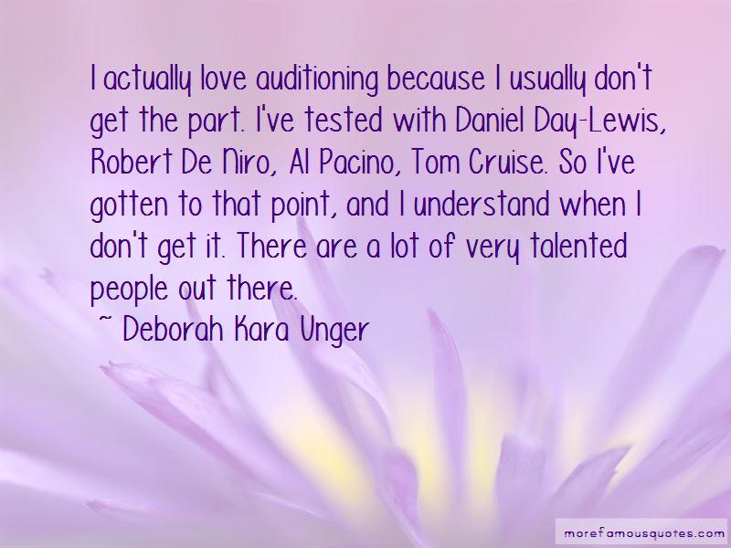 Deborah Kara Unger Quotes Pictures 4