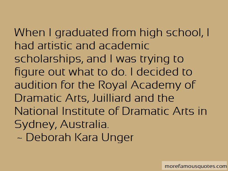 Deborah Kara Unger Quotes