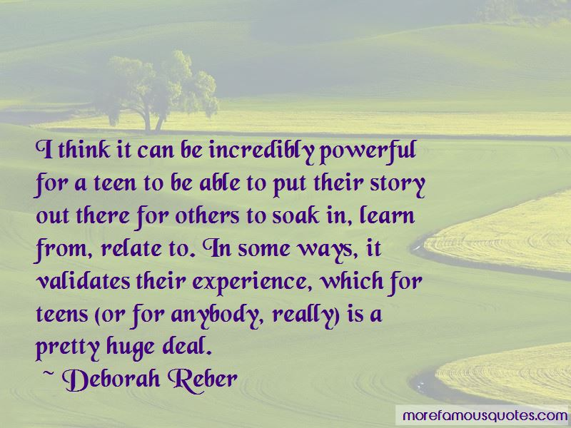 Deborah Reber Quotes Pictures 3