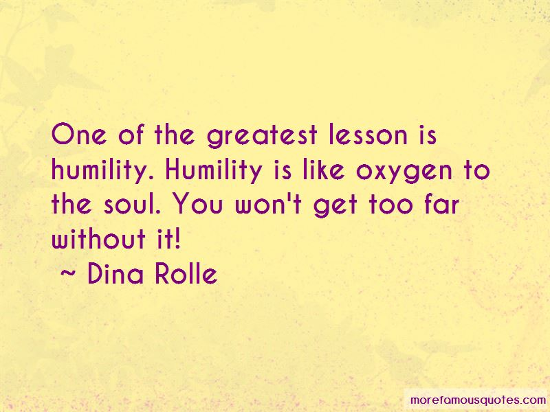 Dina Rolle Quotes