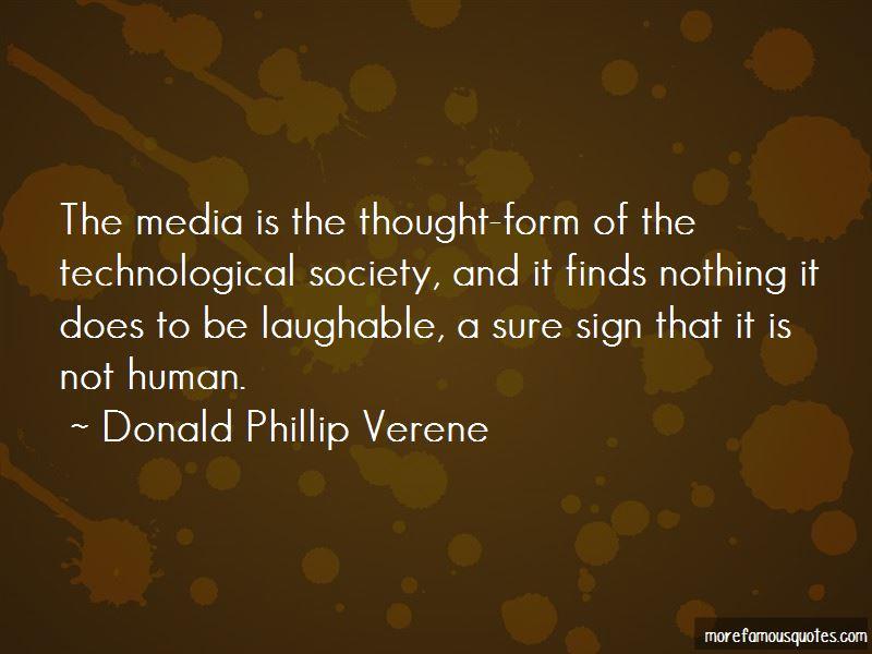 Donald Phillip Verene Quotes Pictures 2