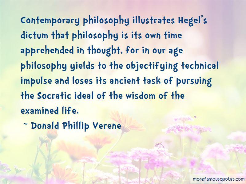 Donald Phillip Verene Quotes Pictures 3