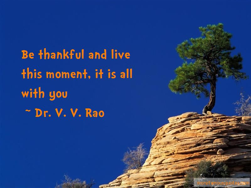Dr. V. V. Rao Quotes Pictures 2