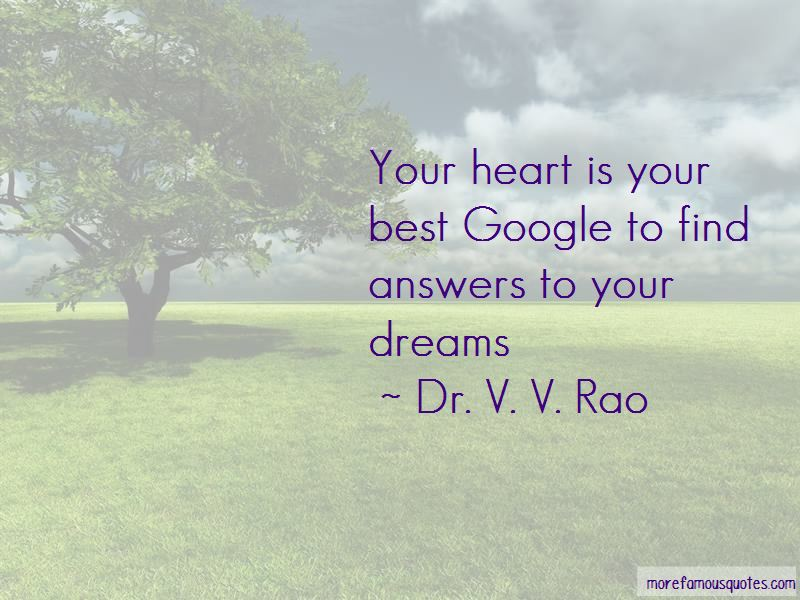 Dr. V. V. Rao Quotes Pictures 3