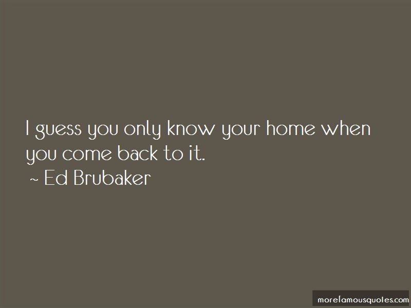 Ed Brubaker Quotes