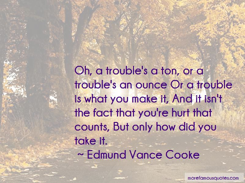 Edmund Vance Cooke Quotes Pictures 2