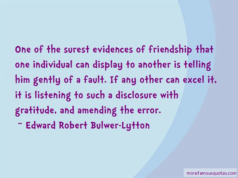 Edward Robert Bulwer-Lytton Quotes