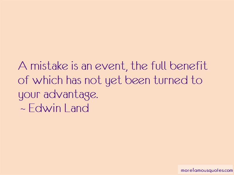Edwin Land Quotes Pictures 2