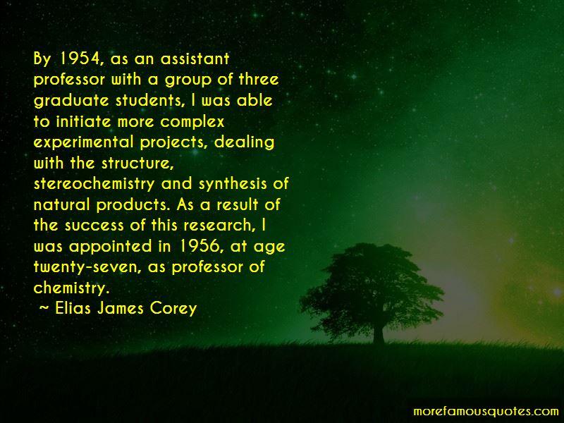 Elias James Corey Quotes Pictures 3