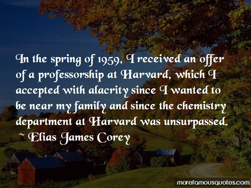 Elias James Corey Quotes