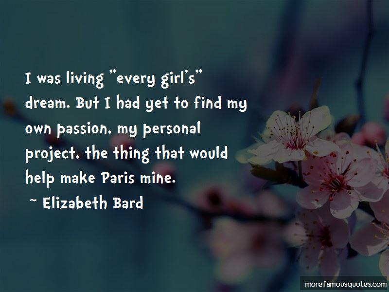 Elizabeth Bard Quotes