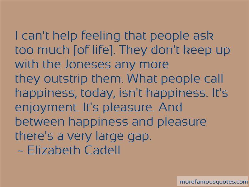 Elizabeth Cadell Quotes