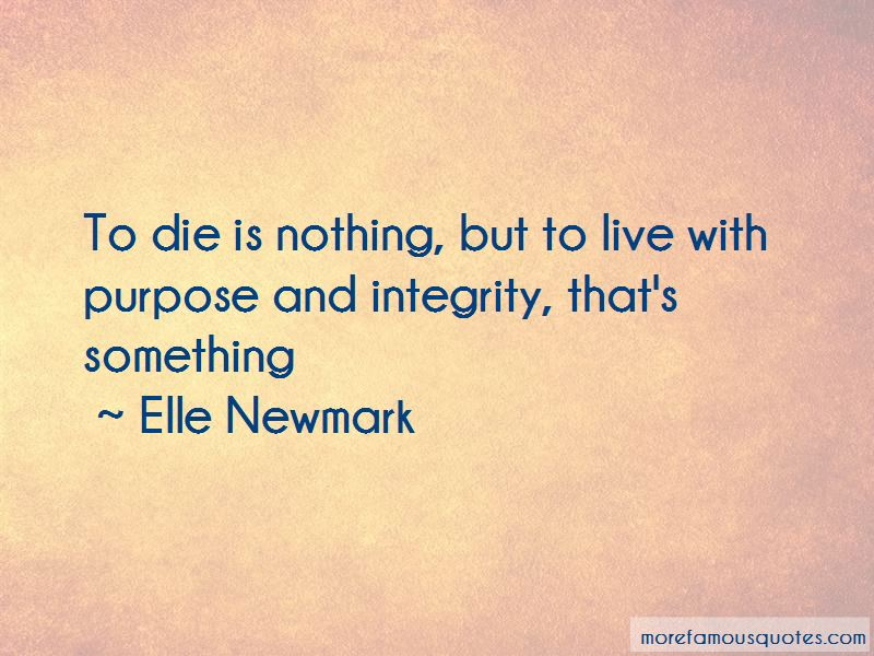 Elle Newmark Quotes Pictures 4