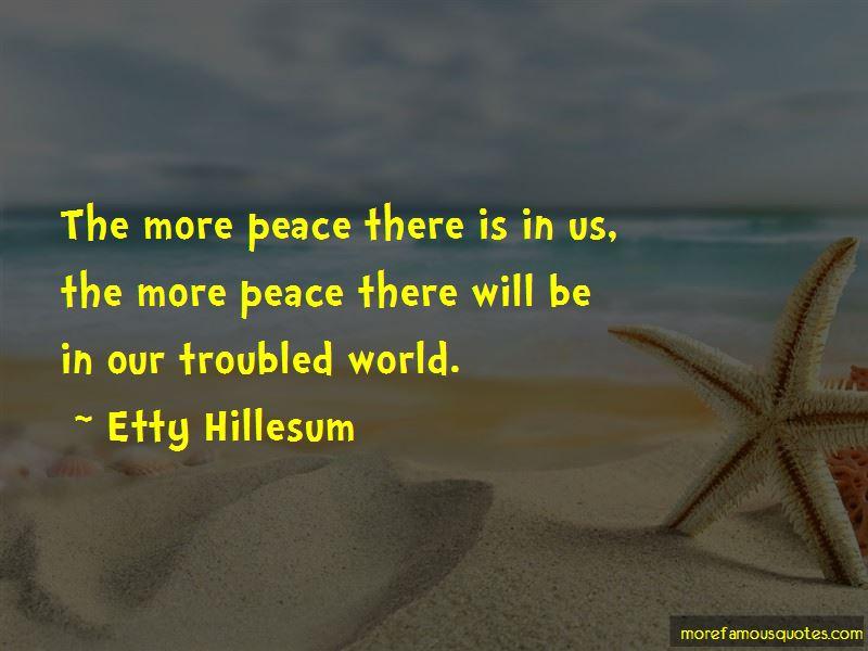 Etty Hillesum Quotes