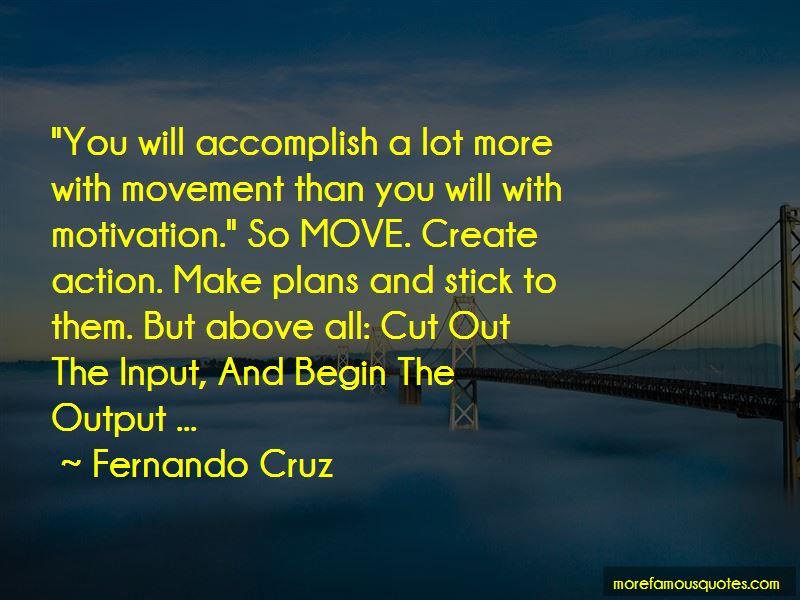 Fernando Cruz Quotes