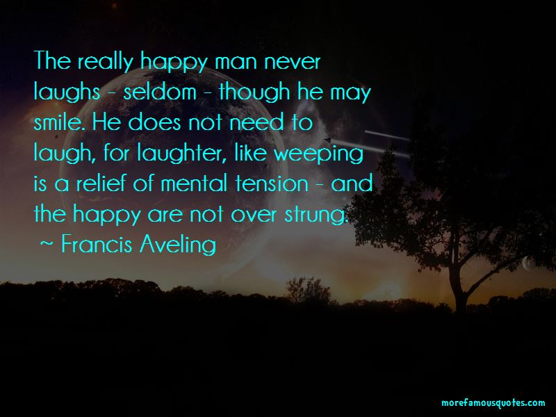 Francis Aveling Quotes