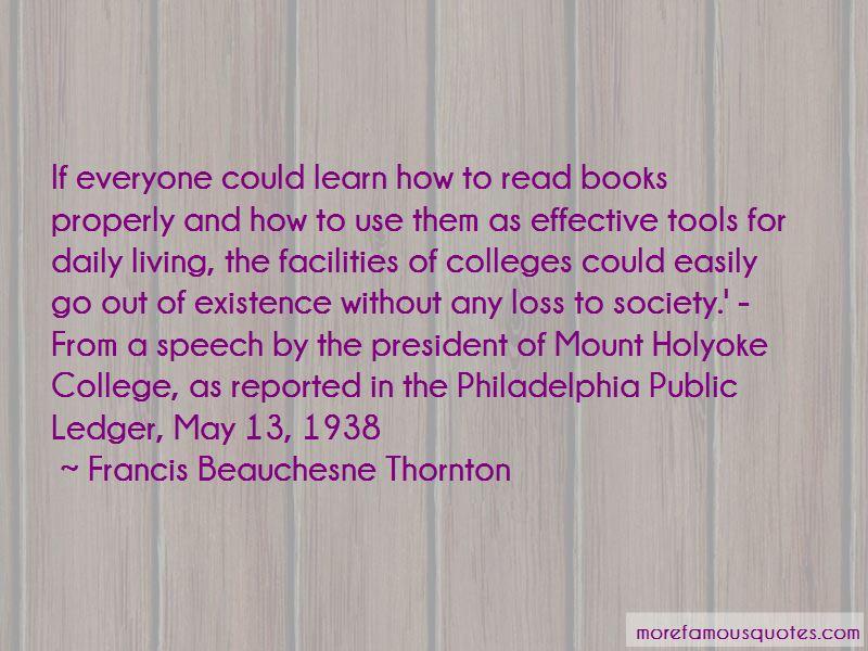 Francis Beauchesne Thornton Quotes Pictures 2