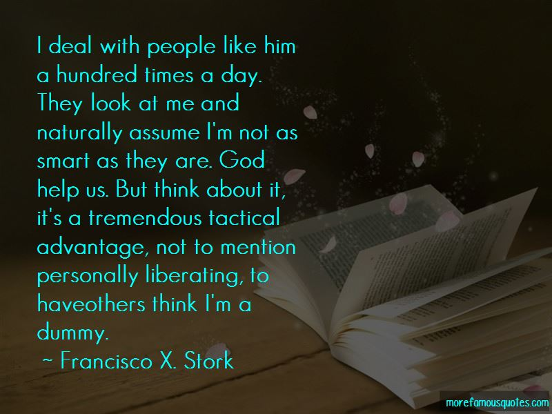 Francisco X. Stork Quotes Pictures 3