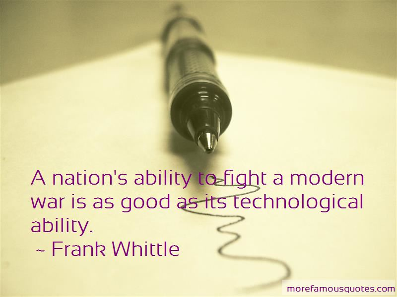 Frank Whittle Quotes