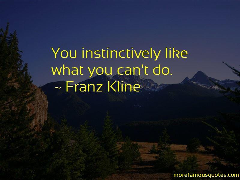 Franz Kline Quotes Pictures 2