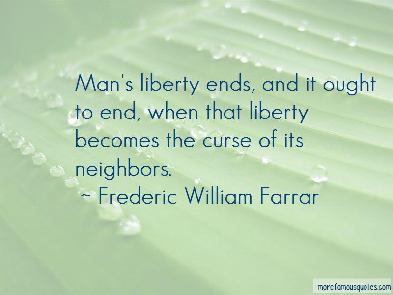 Frederic William Farrar Quotes