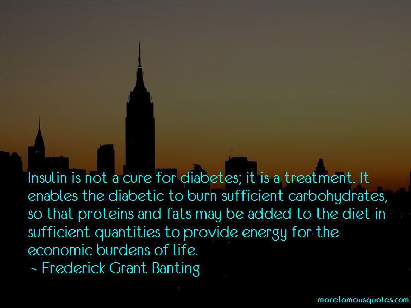 Frederick Grant Banting Quotes