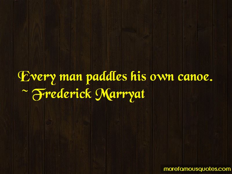 Frederick Marryat Quotes