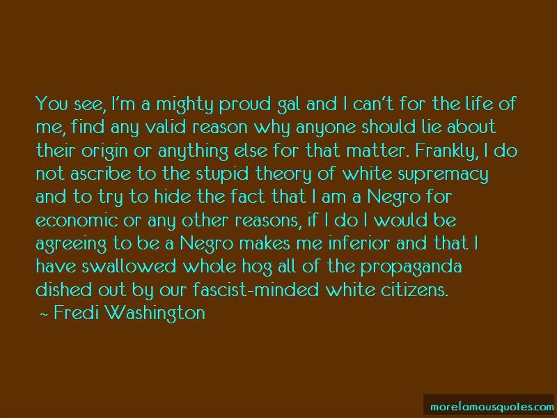 Fredi Washington Quotes