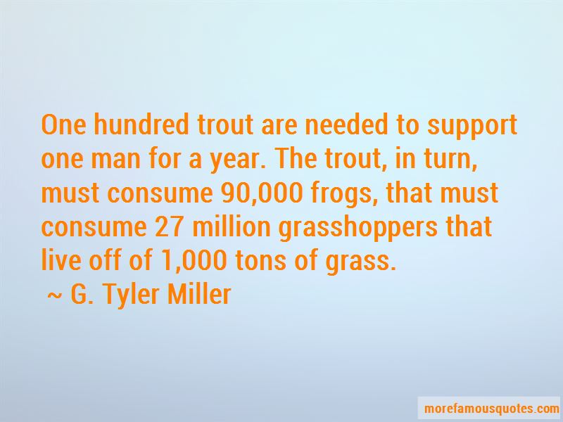 G. Tyler Miller Quotes Pictures 2