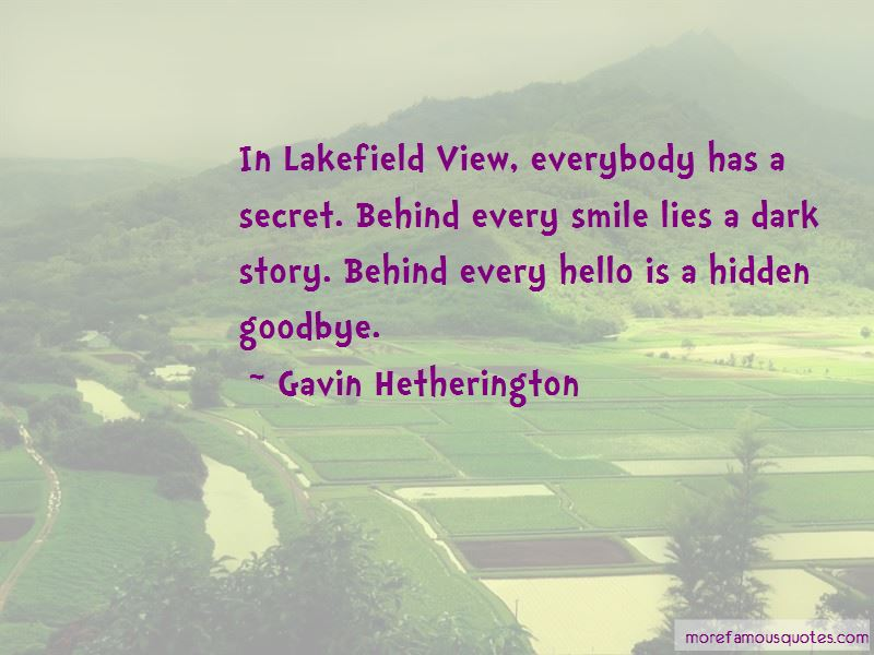 Gavin Hetherington Quotes