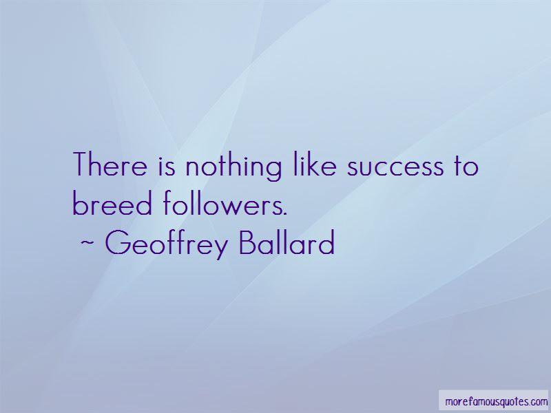 Geoffrey Ballard Quotes Pictures 2