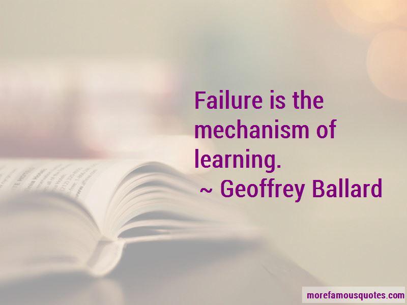 Geoffrey Ballard Quotes Pictures 3