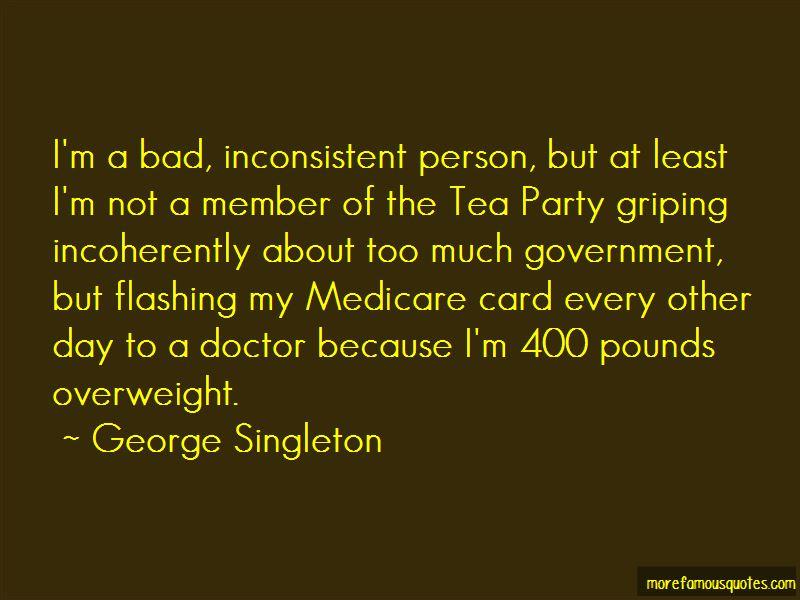 George Singleton Quotes Pictures 2
