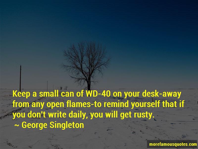 George Singleton Quotes Pictures 3