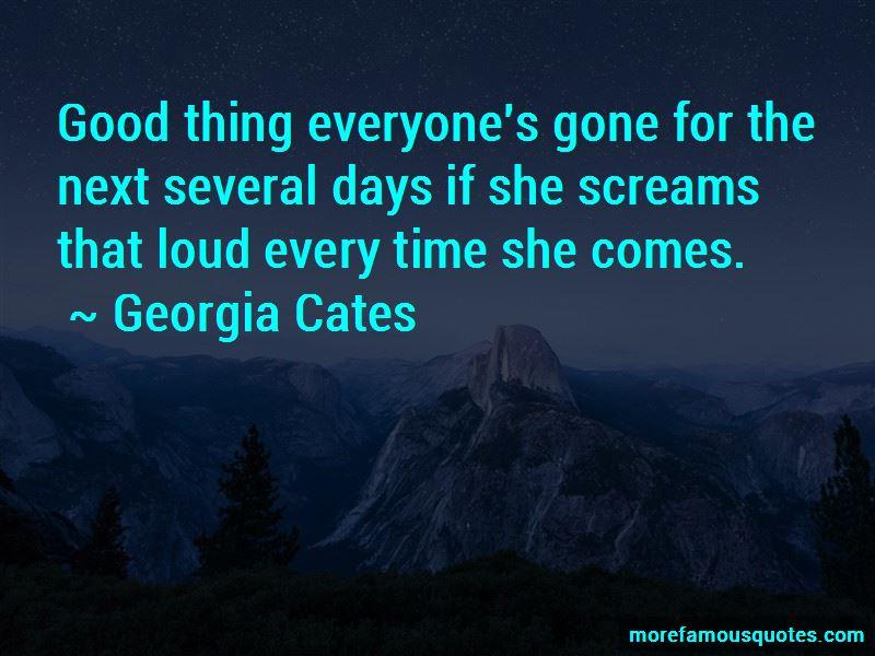 Georgia Cates Quotes Pictures 2