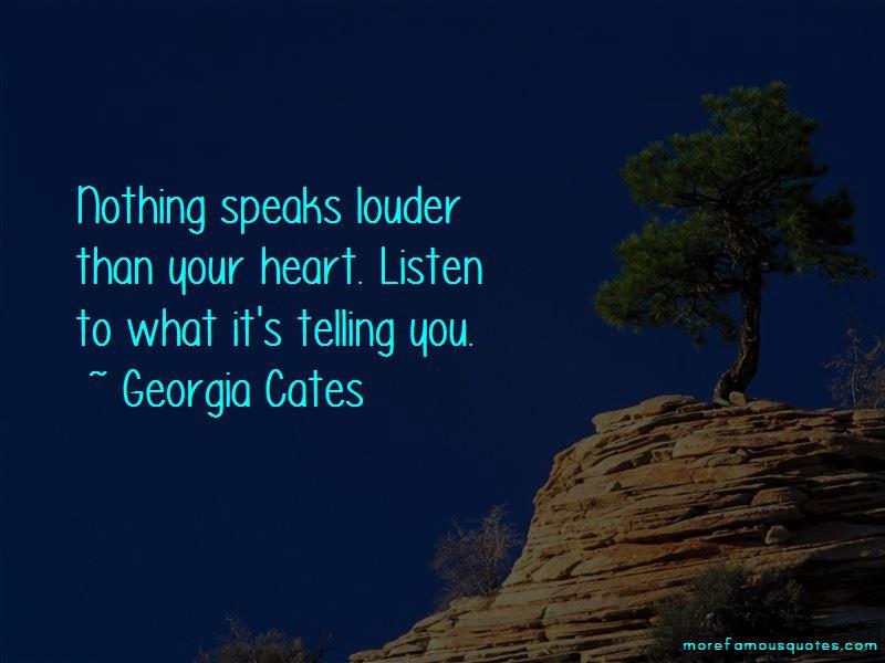 Georgia Cates Quotes Pictures 3