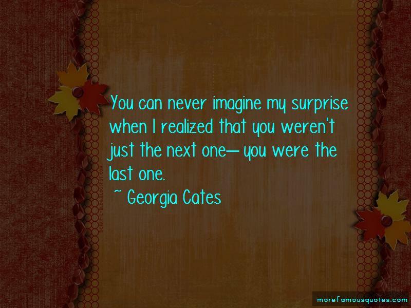 Georgia Cates Quotes
