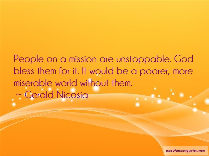 Gerald Nicosia Quotes