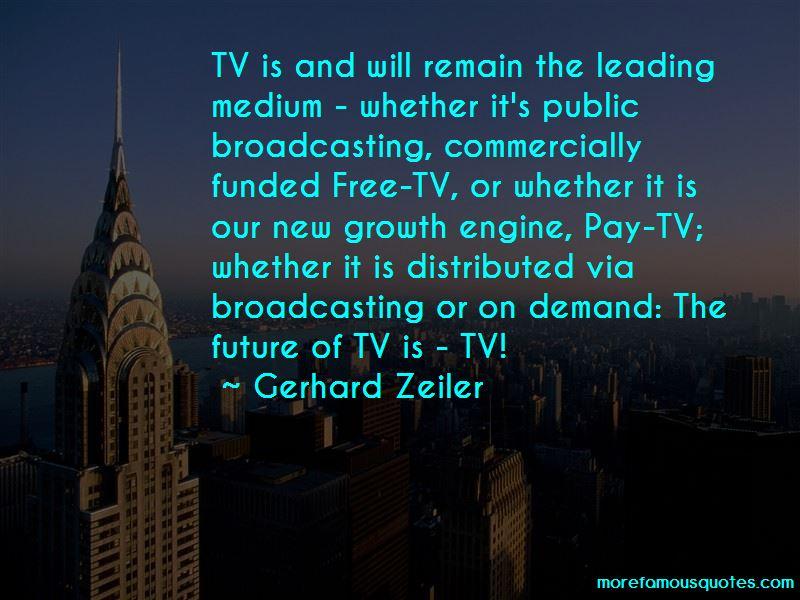 Gerhard Zeiler Quotes Pictures 2