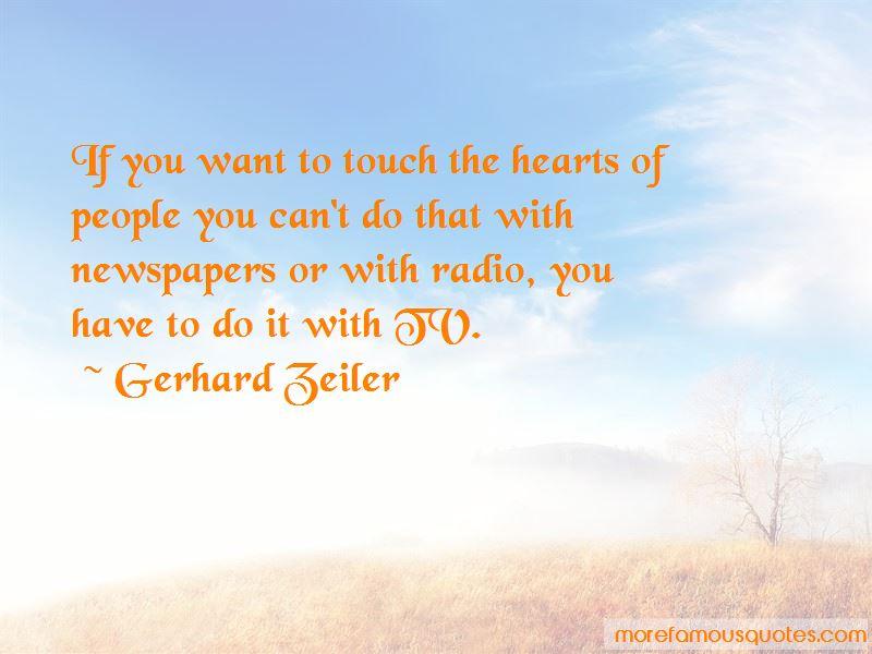 Gerhard Zeiler Quotes Pictures 4