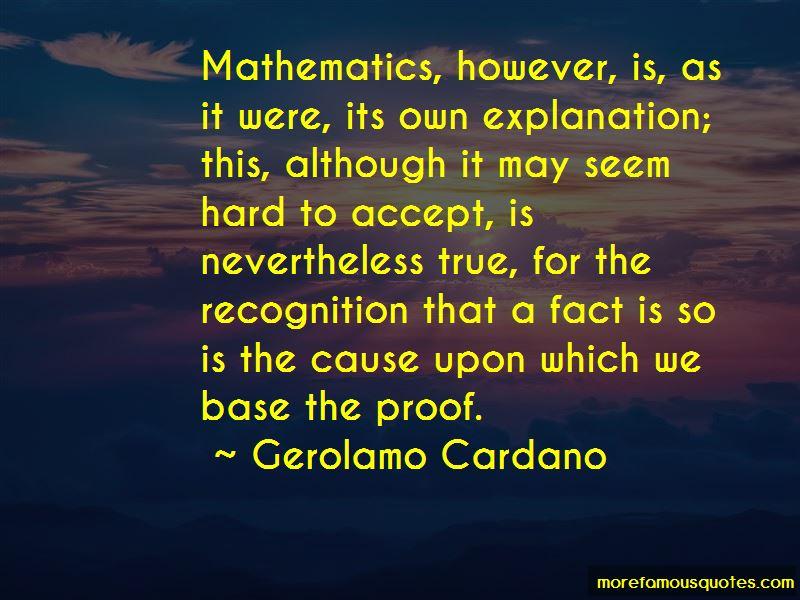 Gerolamo Cardano Quotes