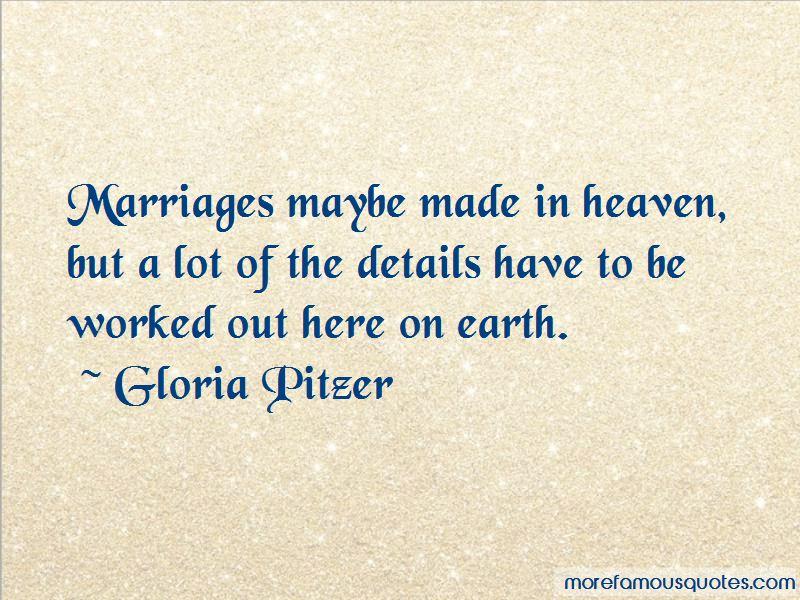 Gloria Pitzer Quotes Pictures 3