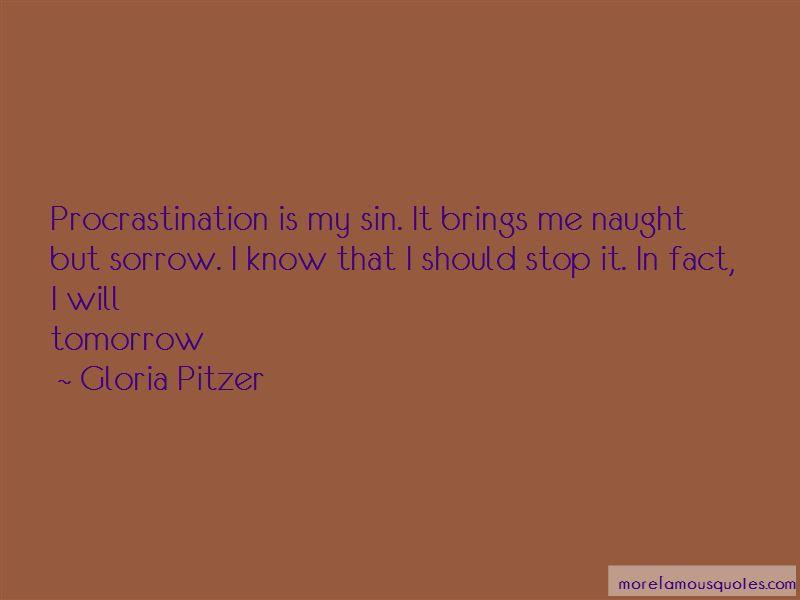 Gloria Pitzer Quotes