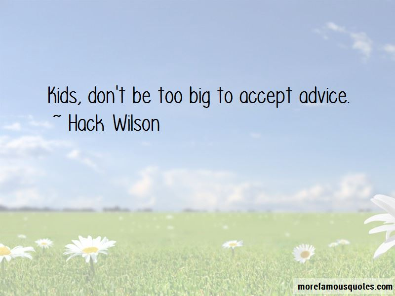Hack Wilson Quotes Pictures 4