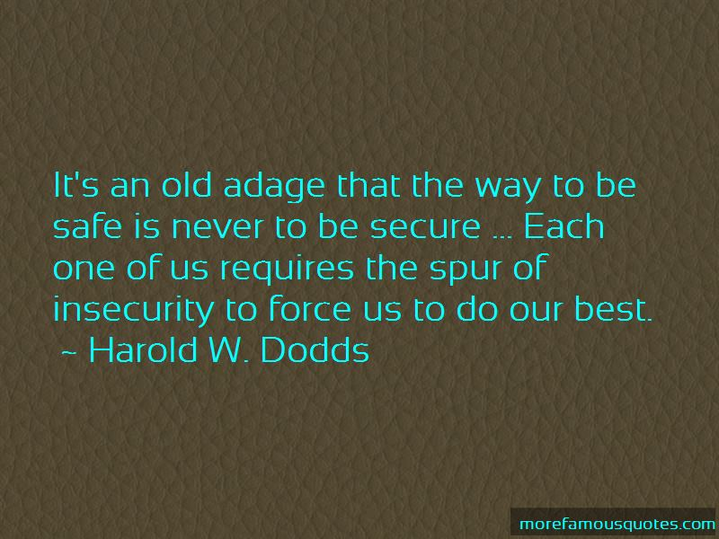 Harold W. Dodds Quotes Pictures 3