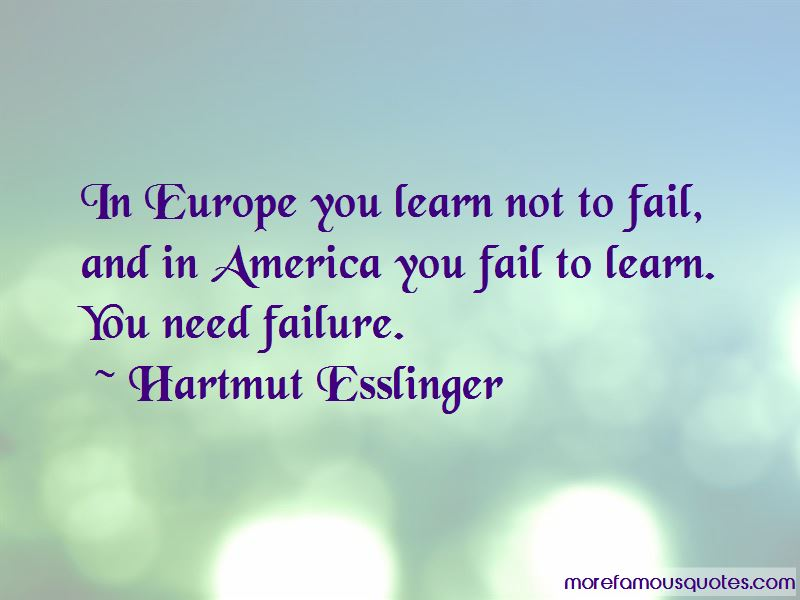Hartmut Esslinger Quotes